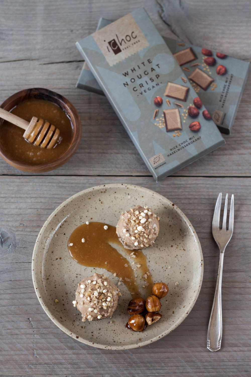 sweet & spicy white nougat bonbons
