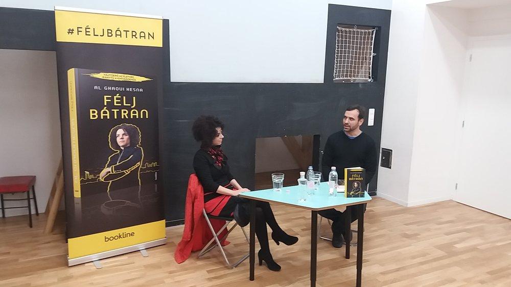 A Budapest Schoolban beszéltegés a könyvről