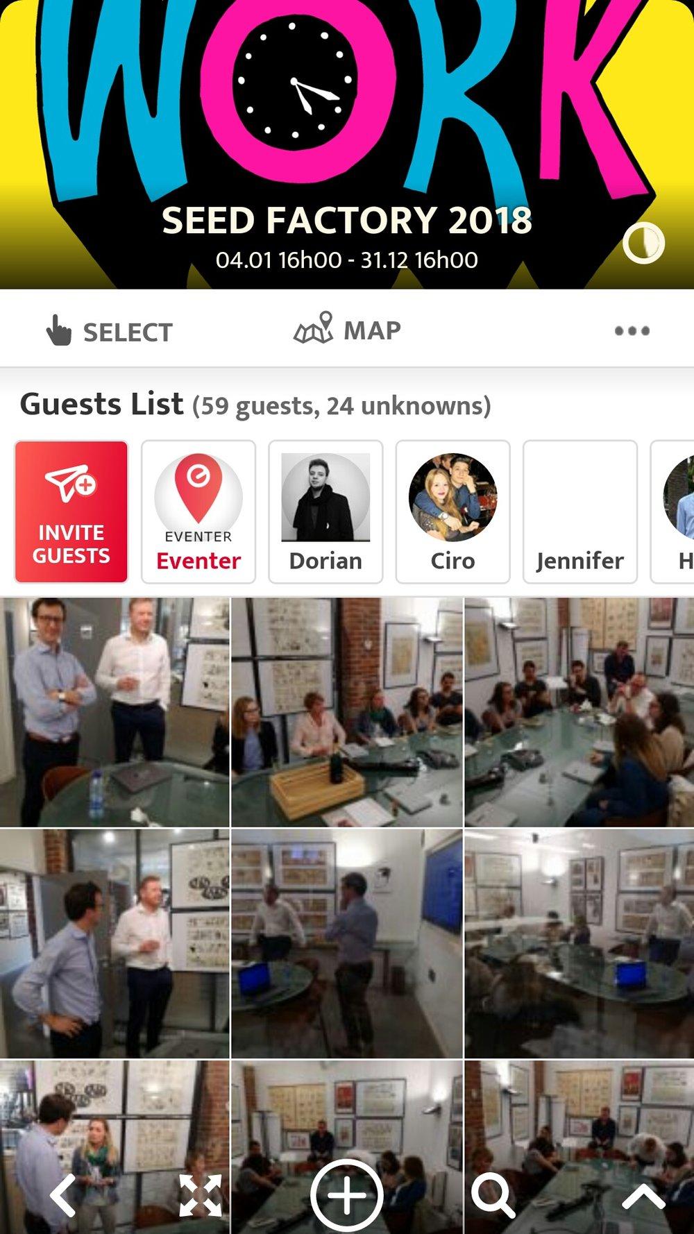 visionnez les photos des autres invités et partagez les votres