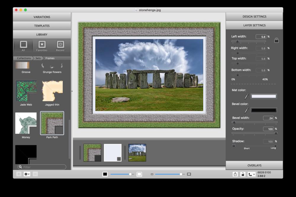 ImageFramer Frame Library.png