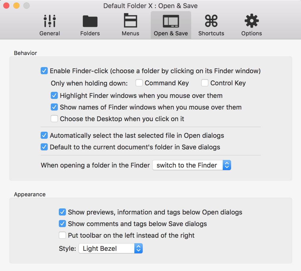 Default Folder X Automatic re-selection - SAC student discount.png