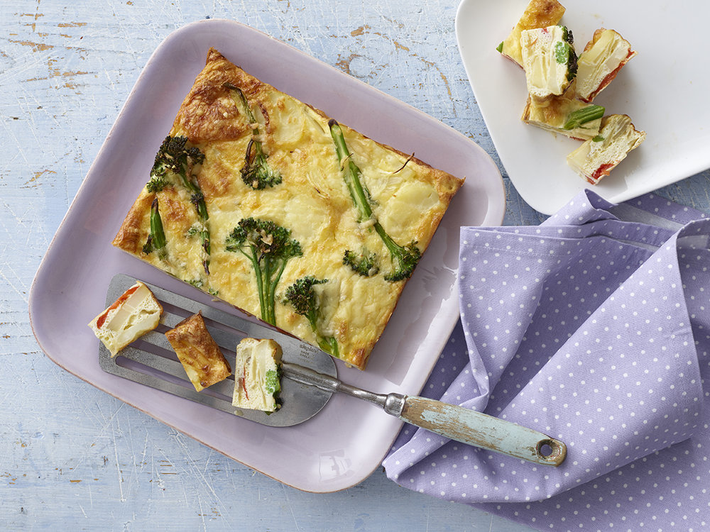 Baked Frittata Squares