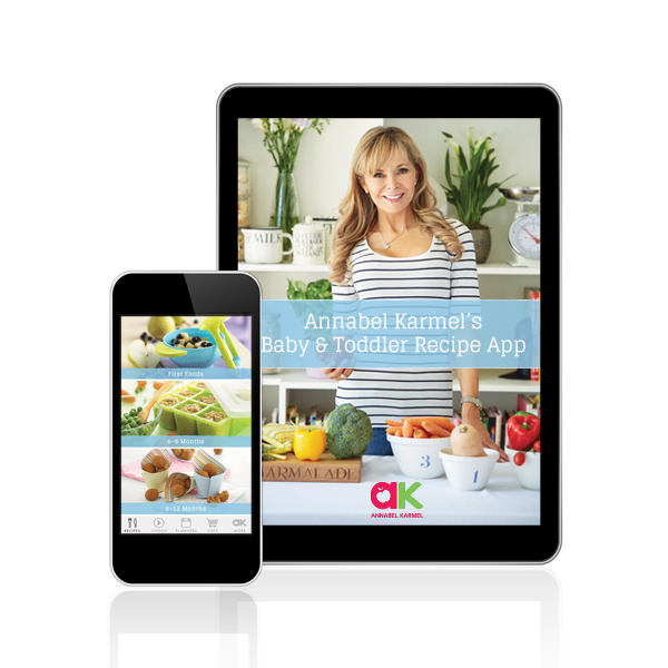 AK Baby & Toddler Recipe App