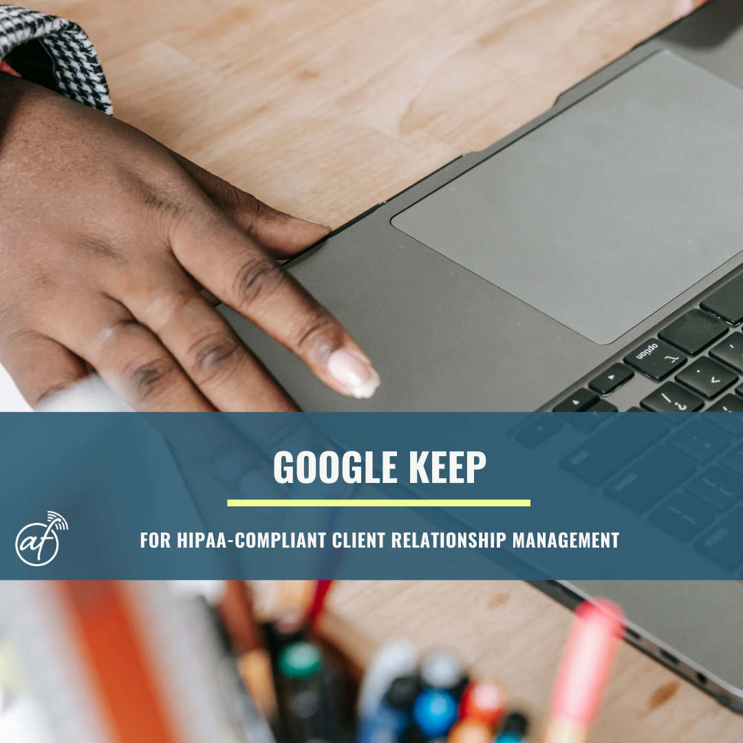 How to use Google Keep for client relationship management in a ...