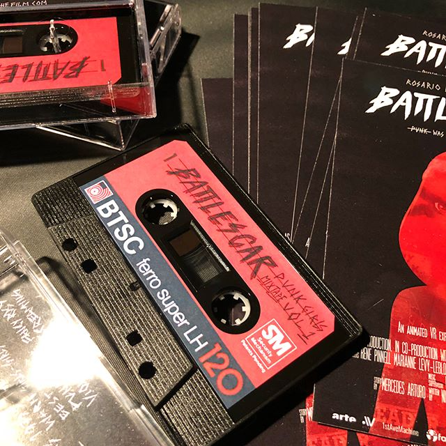 🤟🏽 BattleScar mix tapes!!! 🤟🏽. With special mixtape by @evapuyuelo 🎸💎🙍🏽‍♀️ . #battlescarfilm #sundance