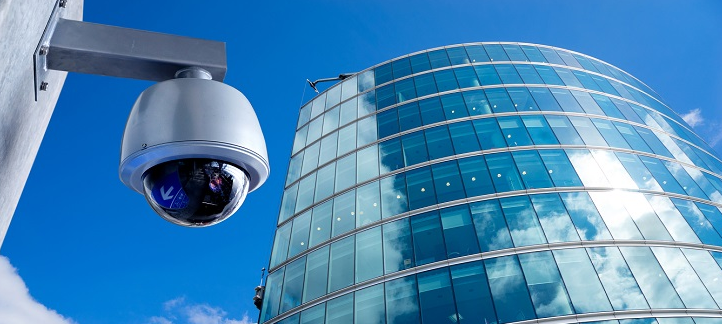 CCTV office