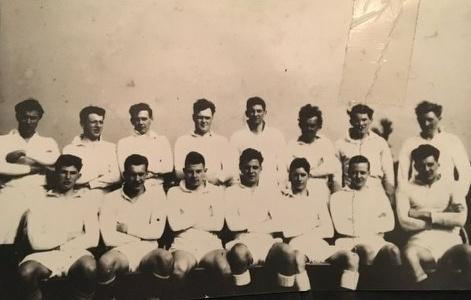 Ewan Kellas and the 1956 Wanderers