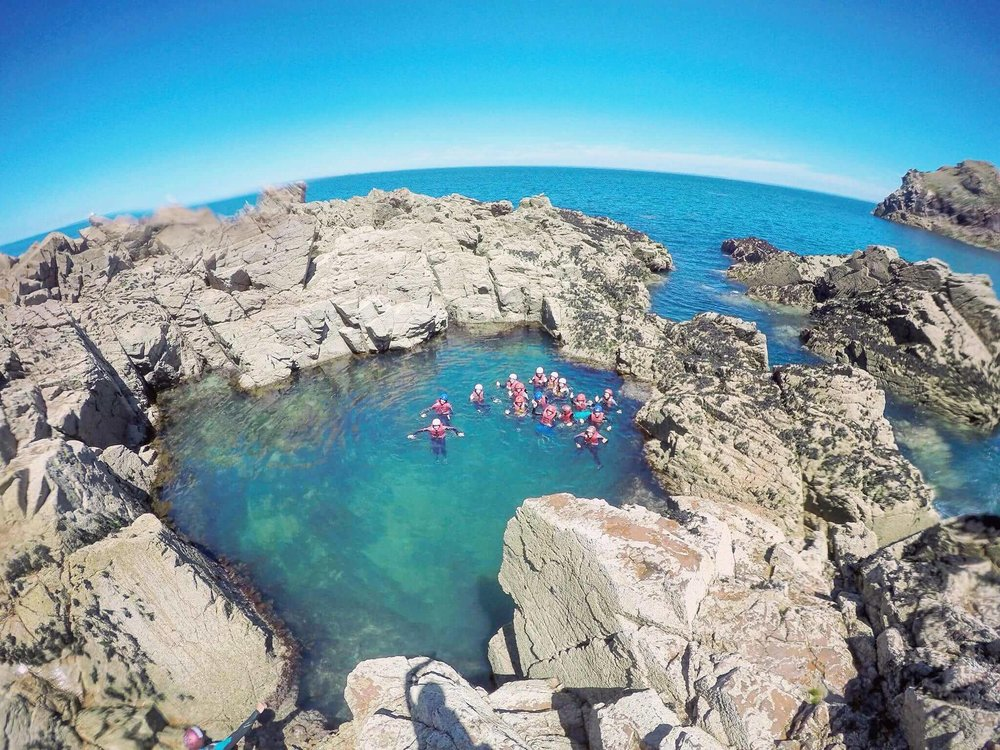 Coasteering jersey otcopus pool.jpg