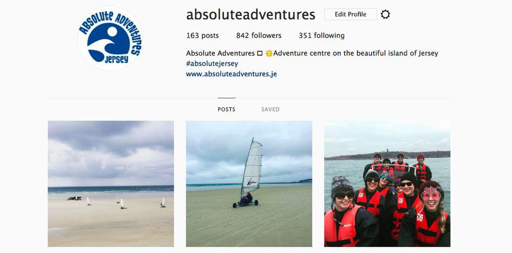 absolute adventures instagram page