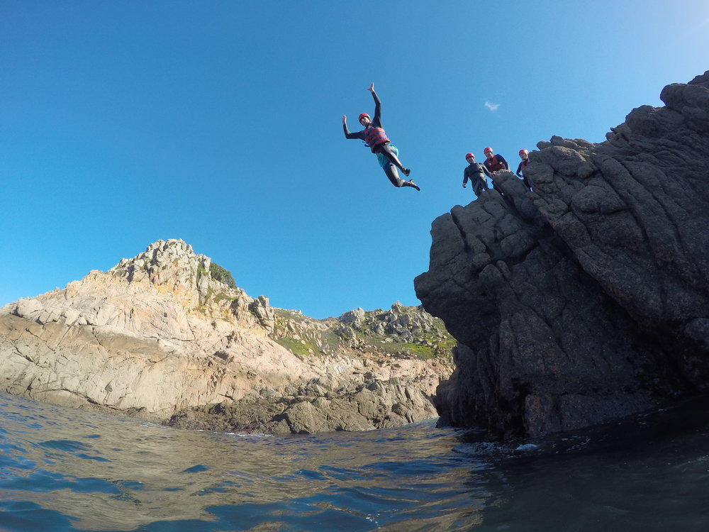 Corporate Coasteering
