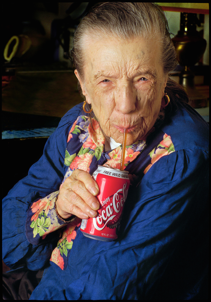 Louise Bourgeois - Photo by Herlinde Koelbl.