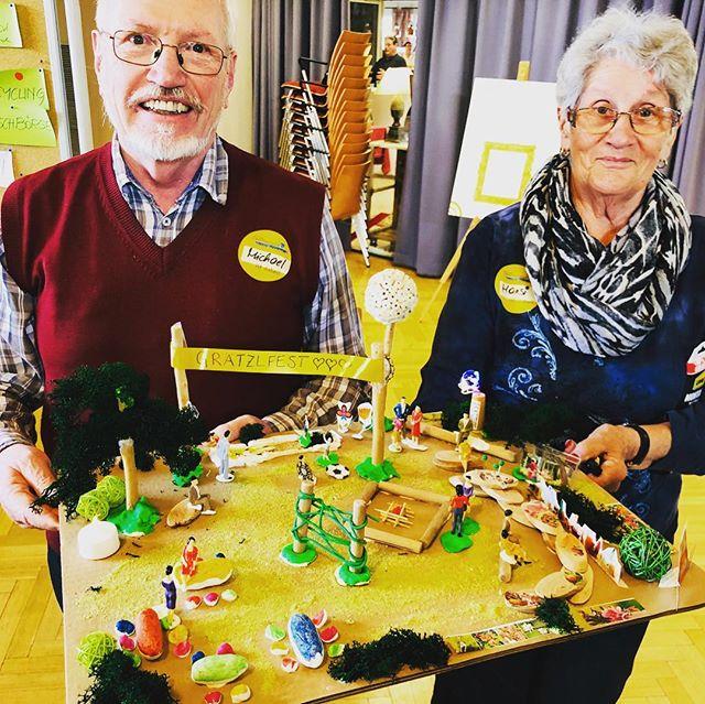 Visualizing the future of neighborhoods. #oldpeoplerock #visualstatements #neighbours #seniors