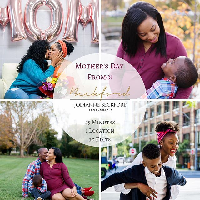 Calling all DURHAM & TORONTO families!✨ . Mother's hold a very special place in our lives and it's important to celebrate them not just on Mother's day, but everyday! ♥️ . Book a Mother's day shoot with me, to celebrate the special women in your life. Treat them to a day of pampering and a fun photoshoot to capture their essence.📸 . DM me for further details and options!📩