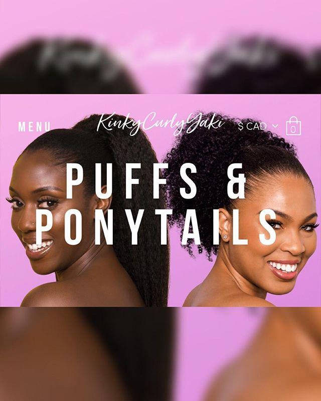 New work with @kinkycurlyyaki! So honoured to have captured their new line of ponytails! 💁🏿♀️💁🏾♀️💁🏽♀️✨✨👩🏽🦱👩🏾🦱👩🏿🦱 . . Hair: @kinkycurlyyaki  MUA: @malvarosebeauty  Models: @rosadashlee @agadzi_hak #jodiannebeckfordphotography #kinkycurlyyaki #ponytails #texturedhair #naturalhair #photography #photo #beauy #blackgirlmagic