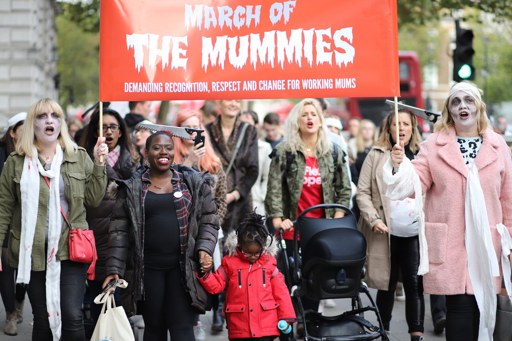 March of the Mummies, London
