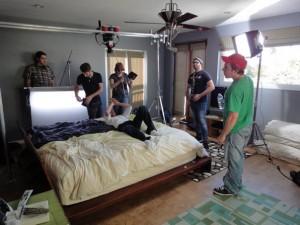 Gary Filming