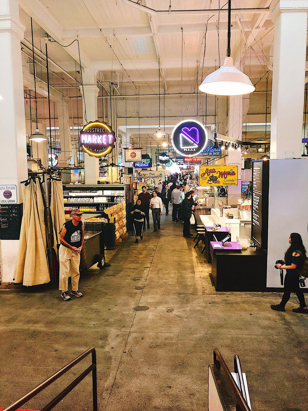 Grand Central Market -      downtown LA food fall
