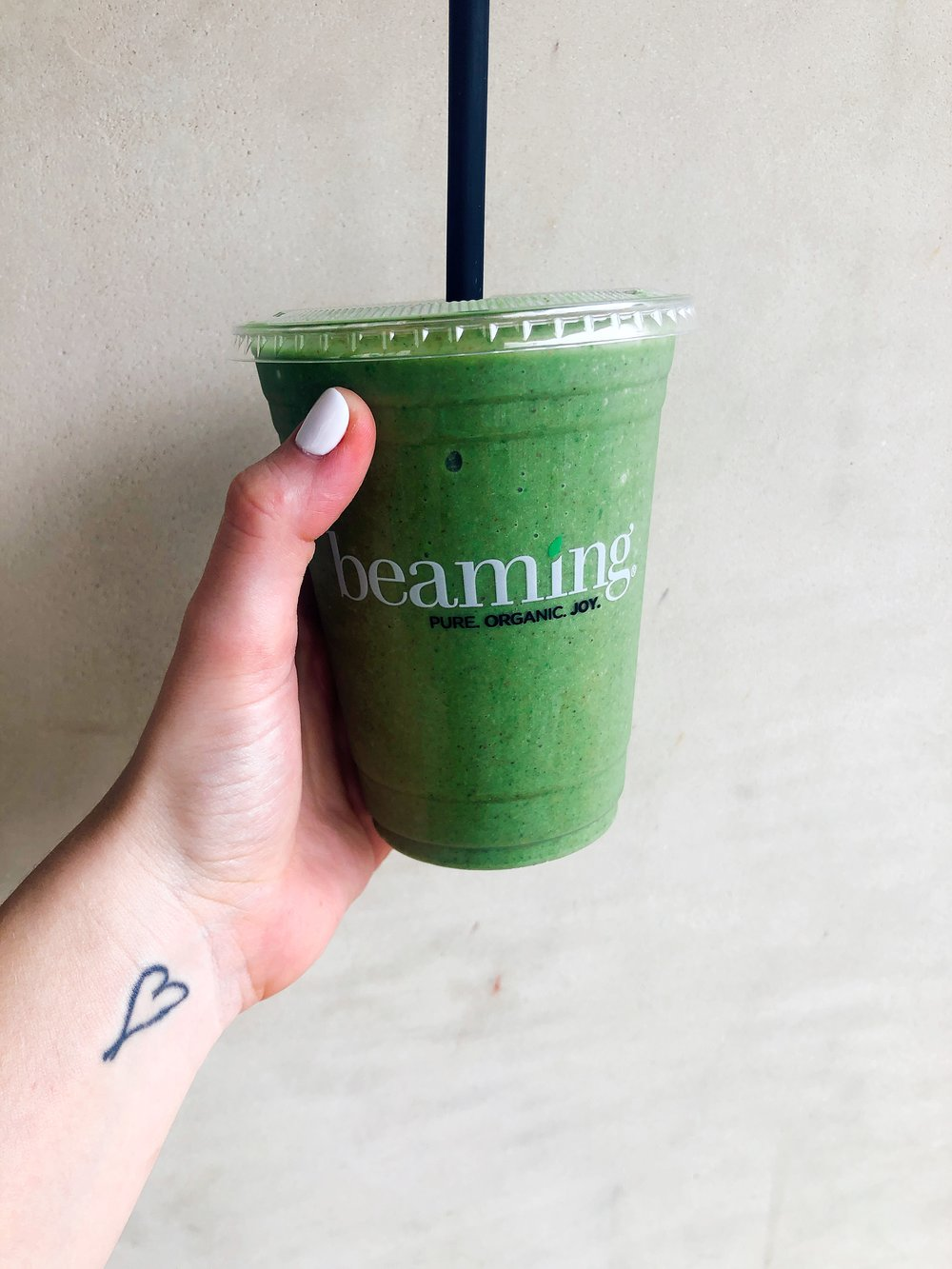 Live Beaming Smoothie