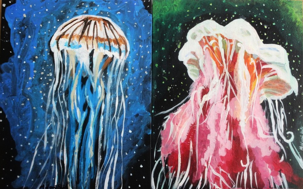 Jelly In Space I, II