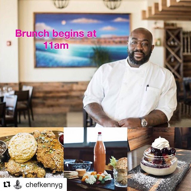 #Repost @chefkennyg with @get_repost ・・・ Brunch begins @gilbertssouthern @gilbertshotchicken @seachaserslounge at 11am! #jaxbeach #brunch #florida #904  Stop by to have a Delicious Southern Brunch with Bottomless Mimosas, Signature Moonshine Bloody Mary's, Local Craft Beer and Wine!!!! #waterfrontdining