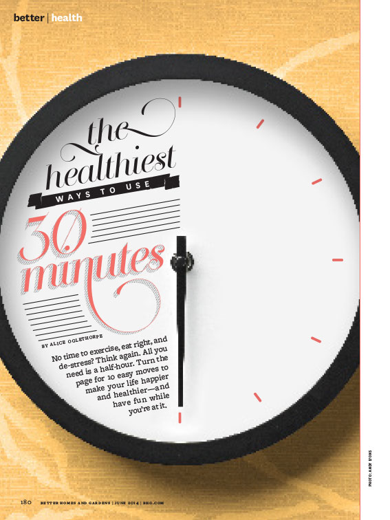 Healthiest Ways to Use 30 Minutes