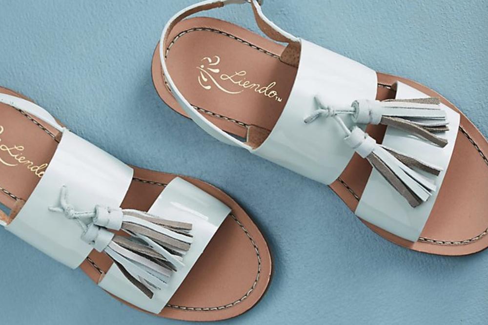 Liendo /  Seychelles Kalahari Tassel Sandals
