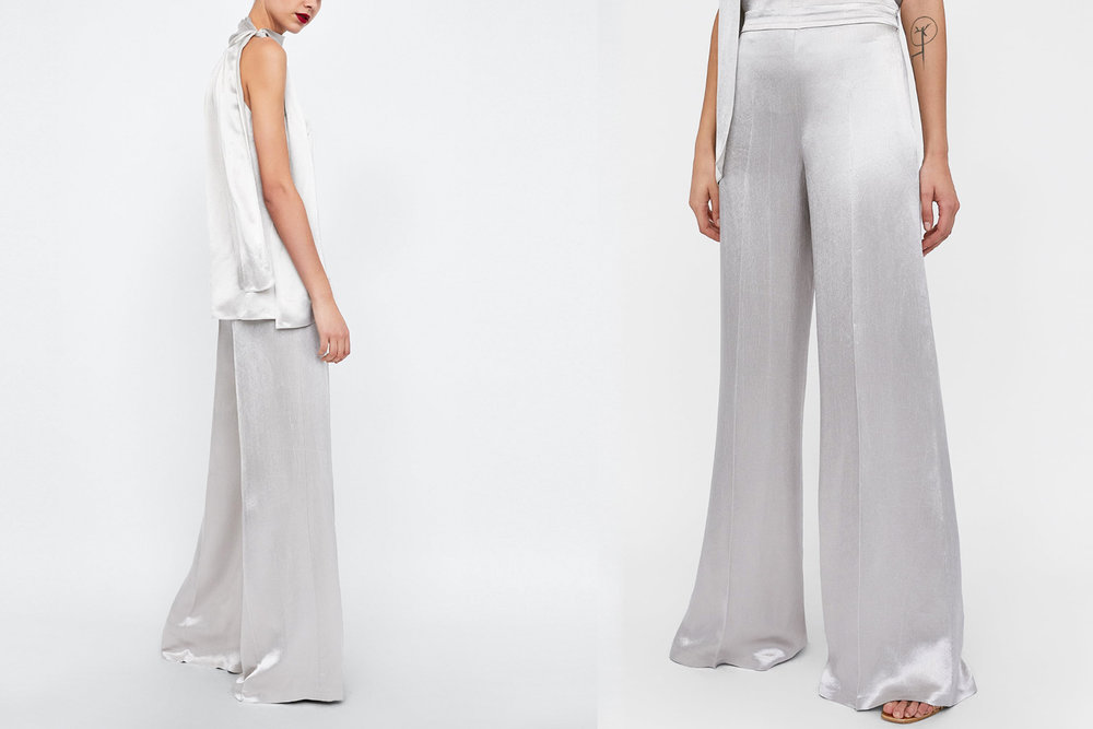Wide-leg trousers by  Zara
