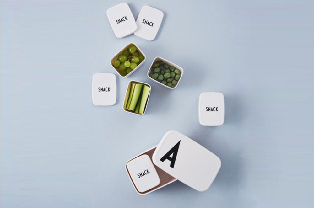 Snack box by  Design letters kids . How smart is that?