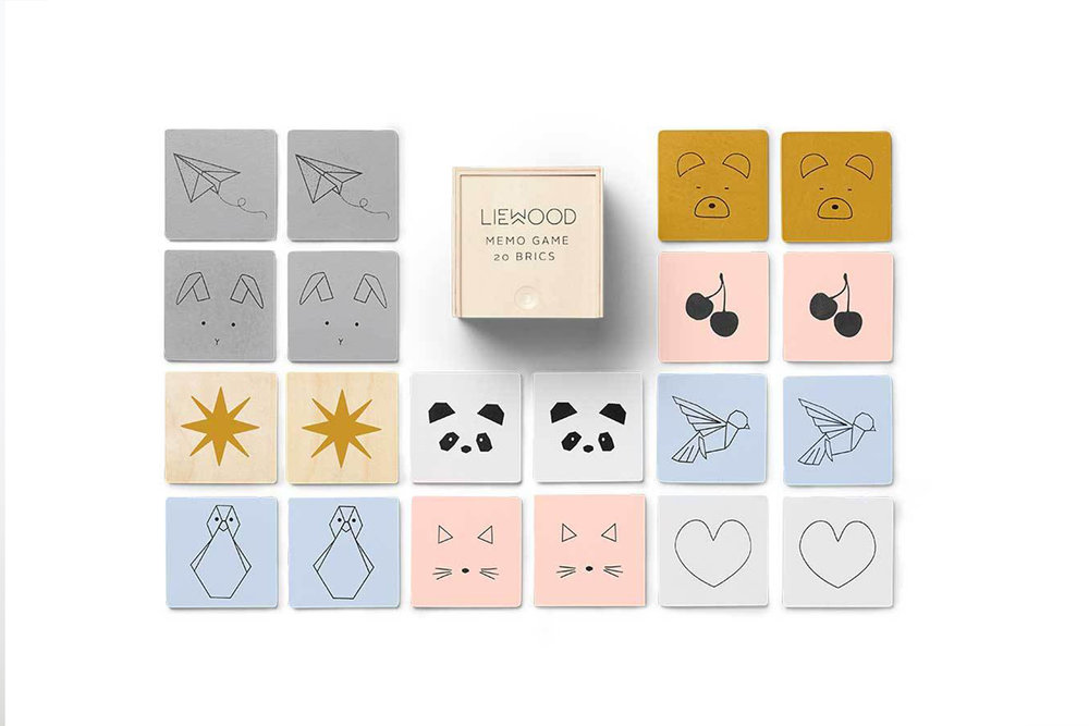 The cutest memory game ever, by  Liewood .