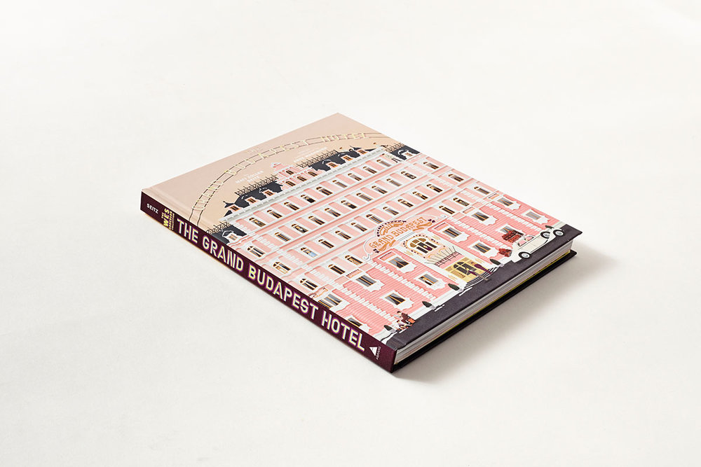 The Grand Budapest Hotel illustrated book, sold by  Abrams Books .