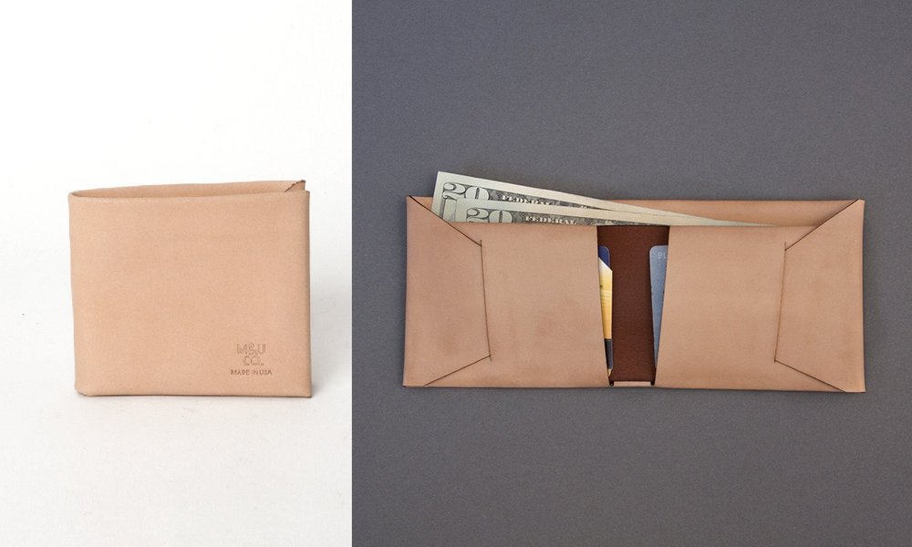 The stitch-less Bifold wallet, handcrafted by  MAXX&UNICORN CO .