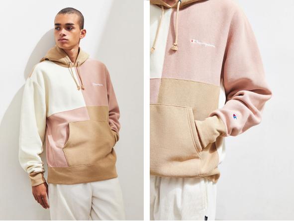 Colorblock Hoodie Sweatshirt  - Official picture