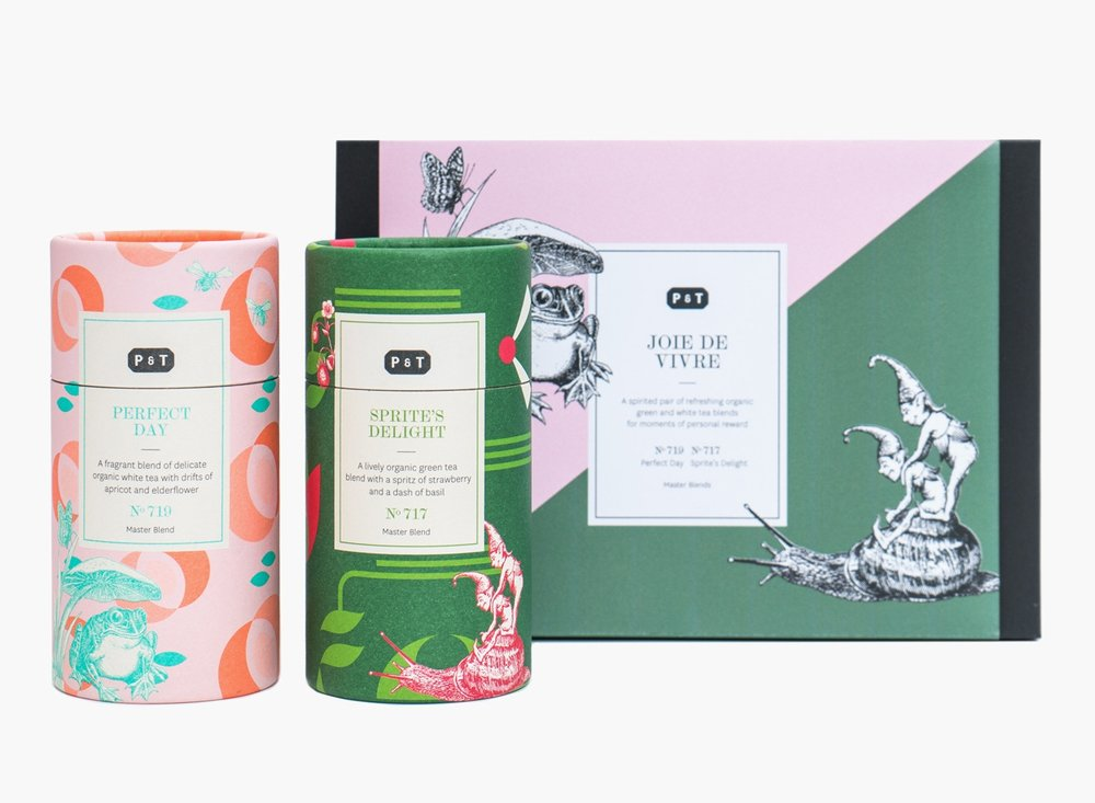 Joie de Vivre tea set  - Official picture