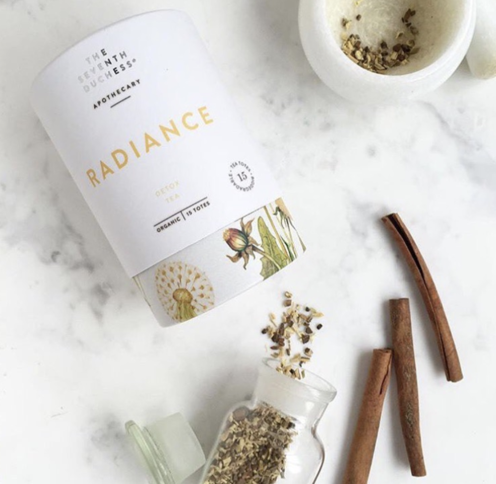 Radiance Tea . Official picture by The Seventh Duchess.