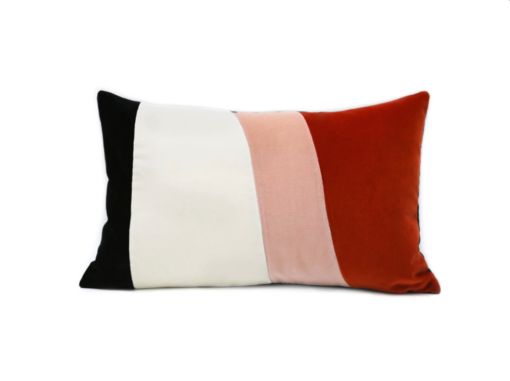 Small Velvet Cinque Terre Cushion  - Official picture