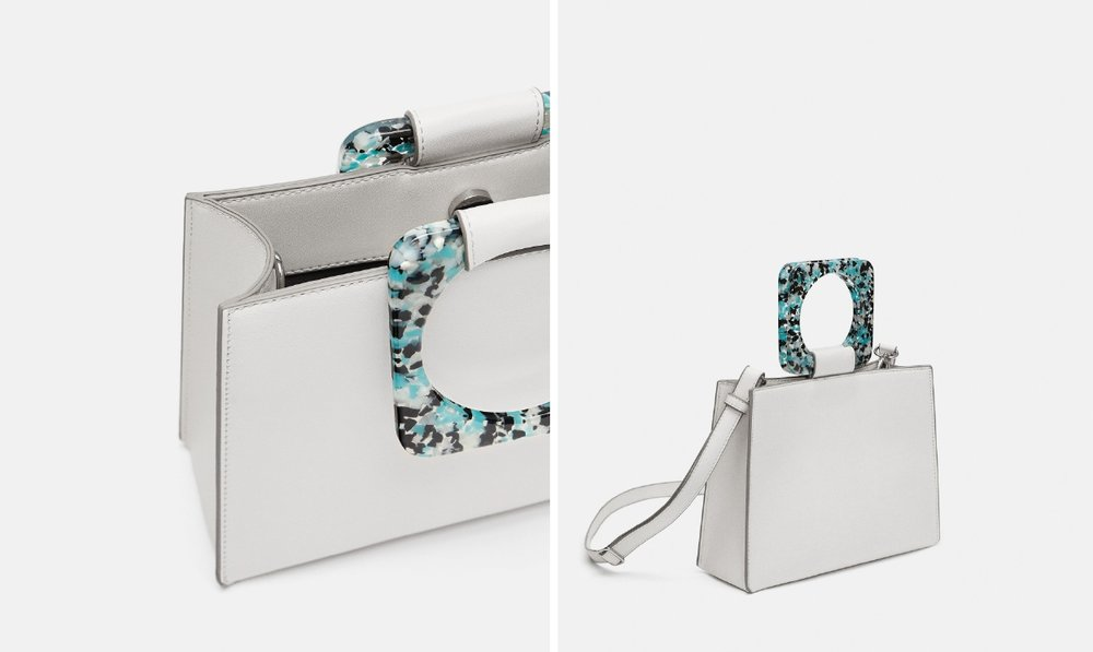 Mini Tote with handle  - Official picture