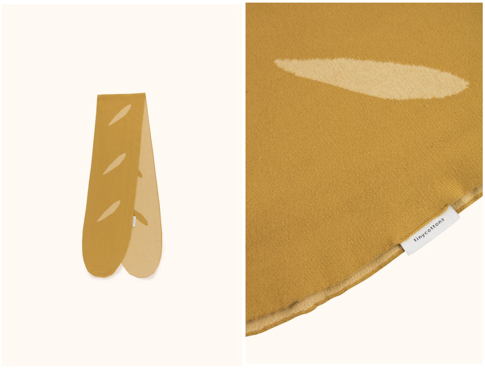 Baguette Scarf Mustard  - Official picture
