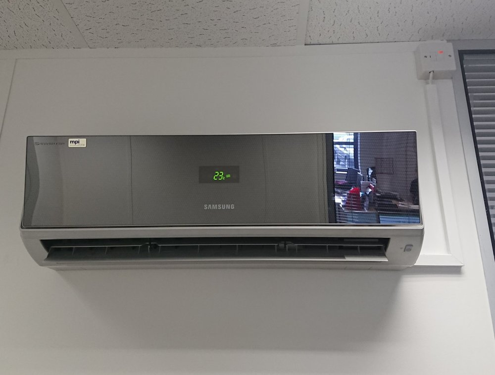 Single Split Air Conditioning systems (Heating & Cooling) for Kahrs Group Office - Location: Havant, Portsmouth, Hampshire