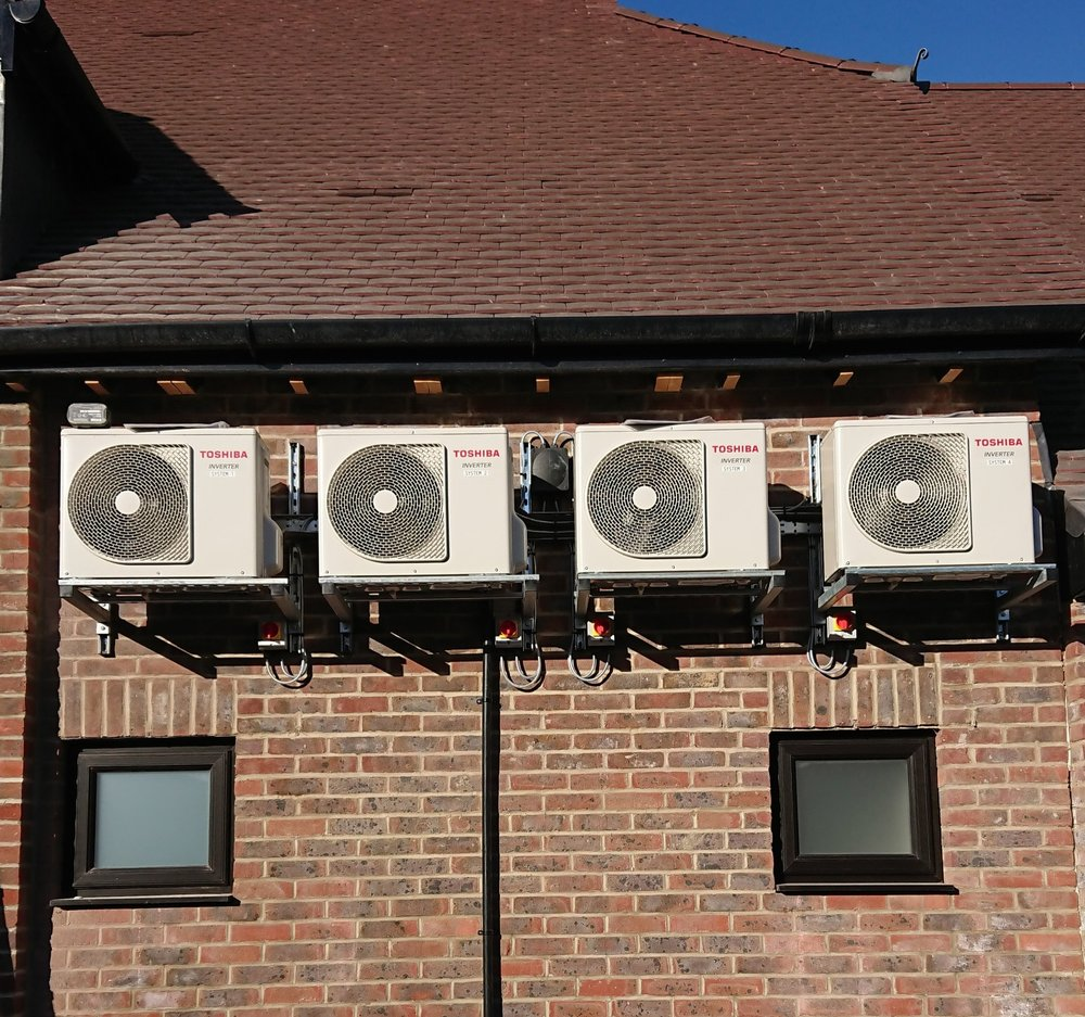 Single Split Air Conditioning systems (Heating & Cooling) for a Parish Office - Location: Fair Oak, Hampshire
