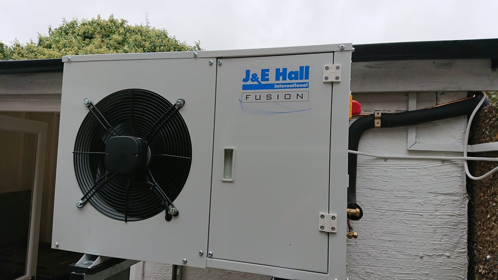 Coldroom Refrigeration system (Medium Temp) for Viennese Restaurant - Location: Southsea, Portsmouth, Hampshire