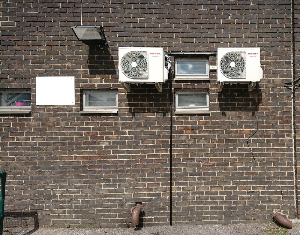 Single Split Air Conditioning systems (Heating & Cooling) for a Salon - Location: Liphook, Hampshire