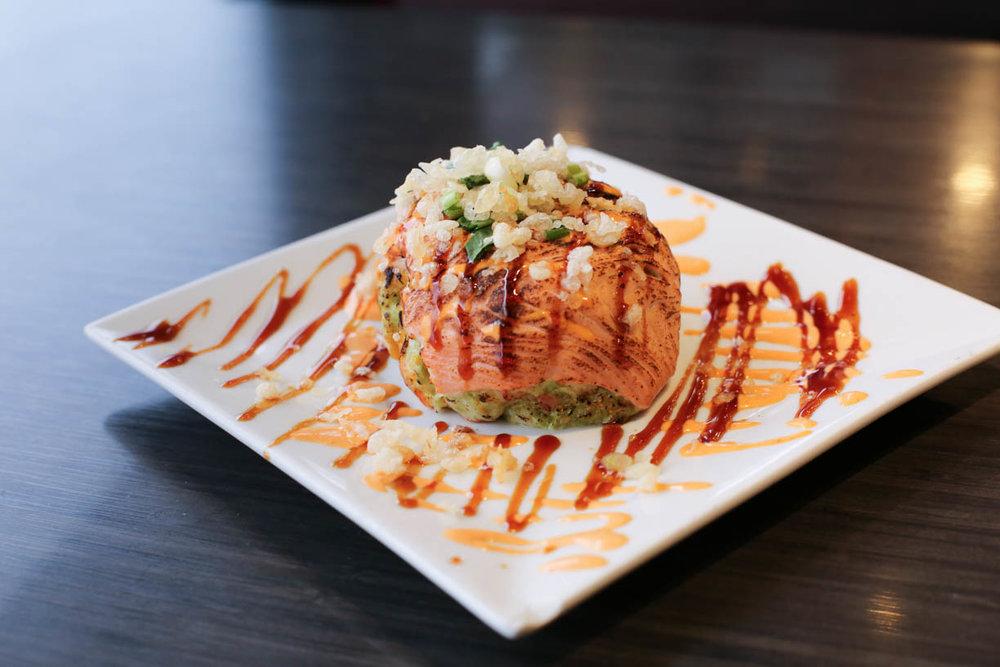 Salmon Avocado Ball