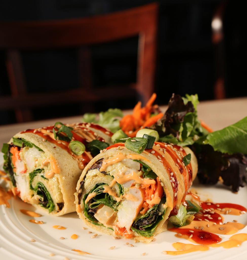 Shrimp & Avocado Crepe