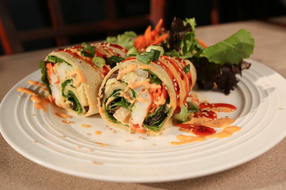Shrimp & Avocado Wrap