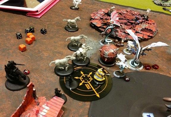 Kraye dies to Angelius fire