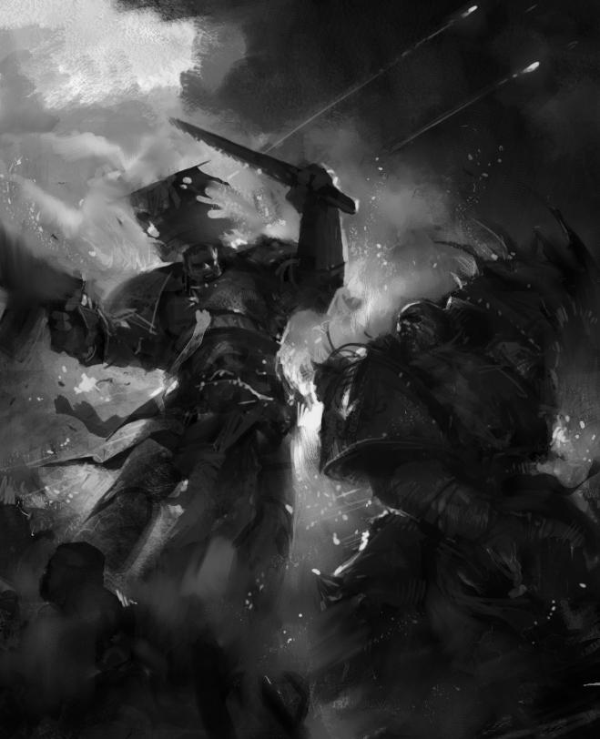 WH40K_Chaos_vs_Marine_by_agnidevi