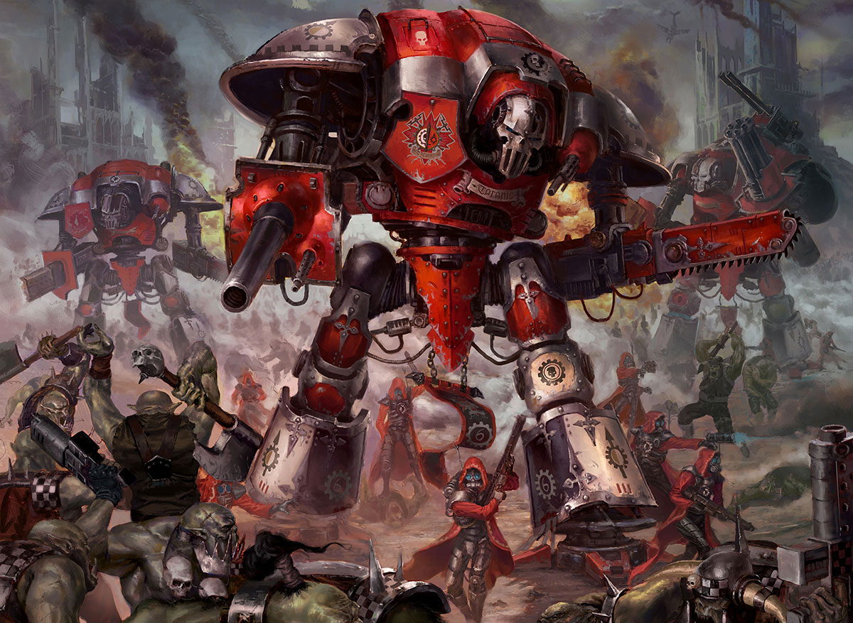 imperial_knight_vs_orks