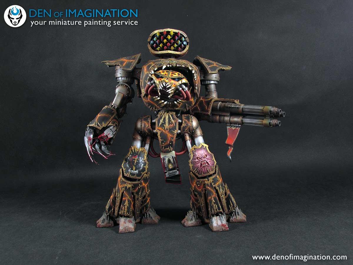 Chaos Reaver Titan by Den of Imagination