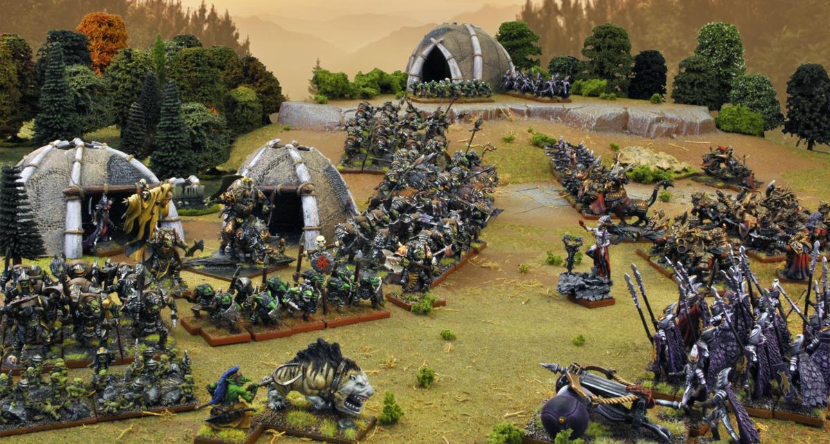 Orcs-Vs-Abyssal-Elves