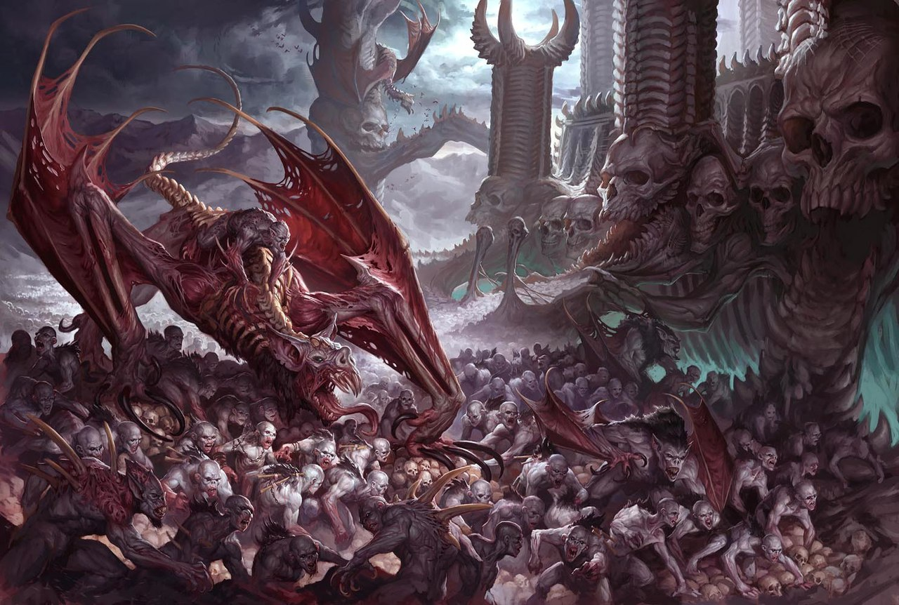 age of sigmar artwork flesheaters courts horde